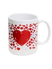 Red Heart Print Mug - Gifts By Meeta