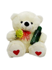 Teddy Bear Soft Toy And Perfume Combo - Gifts By Meeta