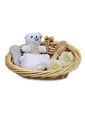Bath Spa Basket With Candle - Gifts By Meeta