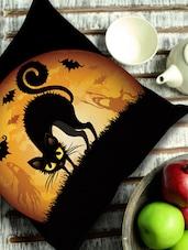 Black Cat Cushion Cover - Stybuzz