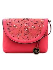 Lasercut Pink Sling Bag - Diana Korr