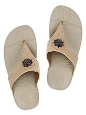 Light Brown Casual Slippers - GLIDERS