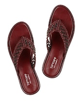 Cherry And Black Slippers - Tiptop