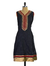 Black And Red Kurti - Pothys