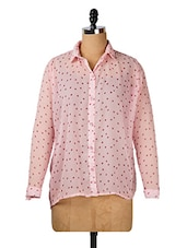 Pink Floral Shirt - Purys