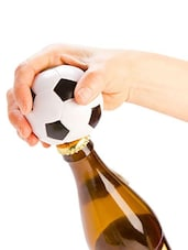 Soccer Ball Bottle Opener - Cool Trends
