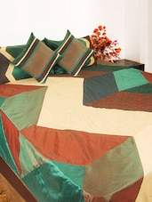Multi-coloured Bed Cover Set Of Five - Bianca