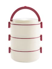 Brown Insulated Food Grade Plastic Body Insulated NsuLunch Carrier - Cello