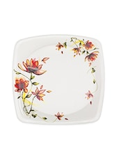 Orange Melamine Dinner Set  Set Of  40 - Cello