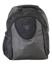Grey And Black Laptop Backpack - PRESIDENT