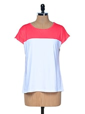 Pink And White Everyday T-shirts - RIGO