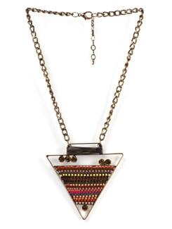 Triangular Pendant Necklace - Tribal Zone