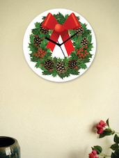 X-Mas Decoration Print Wall Clock - Zeeshaan - 940723