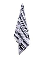 Zebra Print Bath Towel - Avira Home