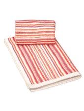 Multi-coloured Striped Hand Towel - Avira Home
