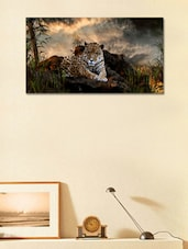 Tiger In The Forest  Wall Sticker - 999store