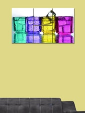 Ice In Colored Glasses Wall Art Painting - 999store