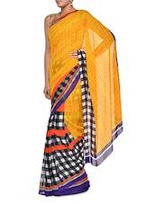 Multi Print Georgette Saree - Aggarwal Sarees