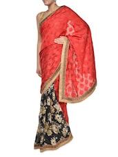 Floral Print Georgette Saree - Aggarwal Sarees