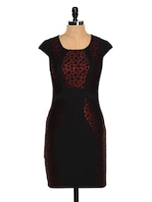 Black And Red Party Dress - Glam And Luxe