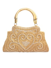 Heavily Embellished Gold Handbag - Ligans NY