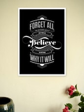 Life Inspiring Quotes Wall Décor Poster - Lab No. 4 - The Quotography Department