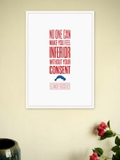 Eleanor Roosevelt Quotes Wall Decor Poster - Lab No. 4 - The Quotography Department