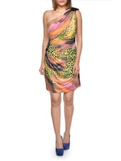 Animal Print Colourful Dress - FOREVER UNIQUE