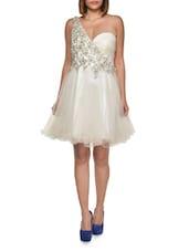 Feminine Sweetheart Ivory Dress - FOREVER UNIQUE