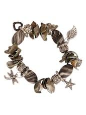 Grey Charms Bracelet - THE BLING STUDIO