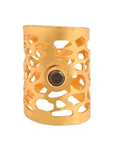 Gold Statement Ring - THE BLING STUDIO