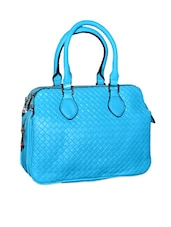 Bright Blue Shoulder Bag - Lass Lee