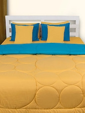 Yellow And Blue Double Comforter - HOUSE THIS