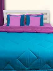Blue And Purple Double Comforter - HOUSE THIS