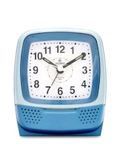Blue Plastic Table Clock - Horo
