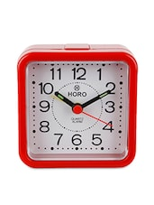 Multi-coloured Plastic Table Clock - Horo - 948707