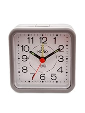 Multi-coloured Plastic Table Clock - Horo