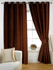 Spiral Eyelet Curtain Set Of Two - Story @ Home