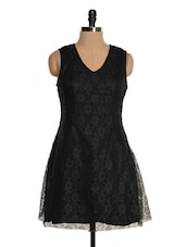 Black Lace Dress - Tapyti