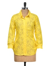 Yellow Lace Shirt - Meee!