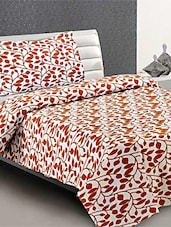 100 % Cotton  Single Bed Sheet With  Pillow Cover - Desi Connection - 953331