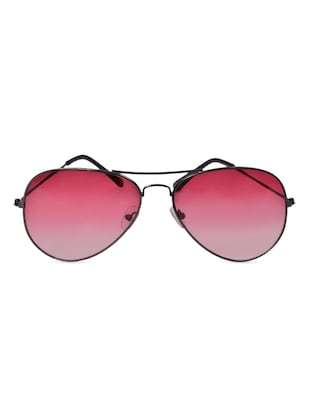 Red lens aviator