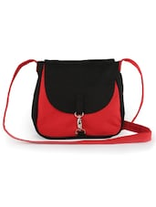 Red And Black Sling Bag - Vogue Tree