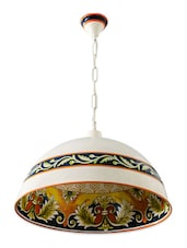 Beautiful Hand Painted Hanging Light - Fos Lighting