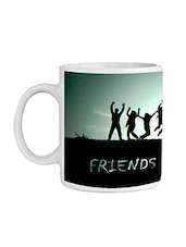 White Ceramic Quoted Coffee Mug - By - 9555355