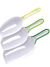 Multipurpose Scoops With Snap-Fit Handles (Set Of 3) - Tovolo