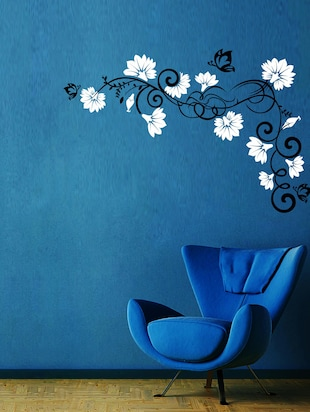 Vines And Flowers 1 Wall Decal