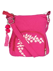 Bright pink cross body bag -  online shopping for sling bags