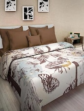 Multicolored Cotton Printed Double Bed Quilt - By - 9569860