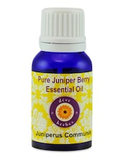 Pure Juniper Berry Essential Oil (15ml) - Dève Herbes